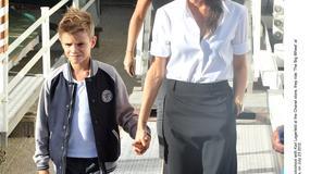 Victoria Beckham pokazała synowi Paryż