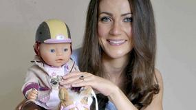Sobowtór Kate z własnym Royal Baby