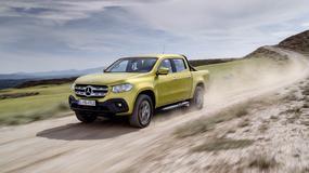 Mercedes Klasy X – pickup z gwiazdą