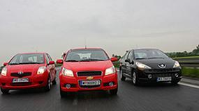Chevrolet Aveo kontra Peugeot 207 i Toyota Yaris - Luksus poproszę. Tanio!