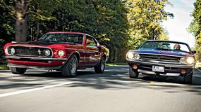 Ford Mustang Mach 1 kontra Dodge Challenger R/T Convertible - klasyki z Ameryki