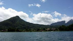 Francja - Nad jeziorem Annecy