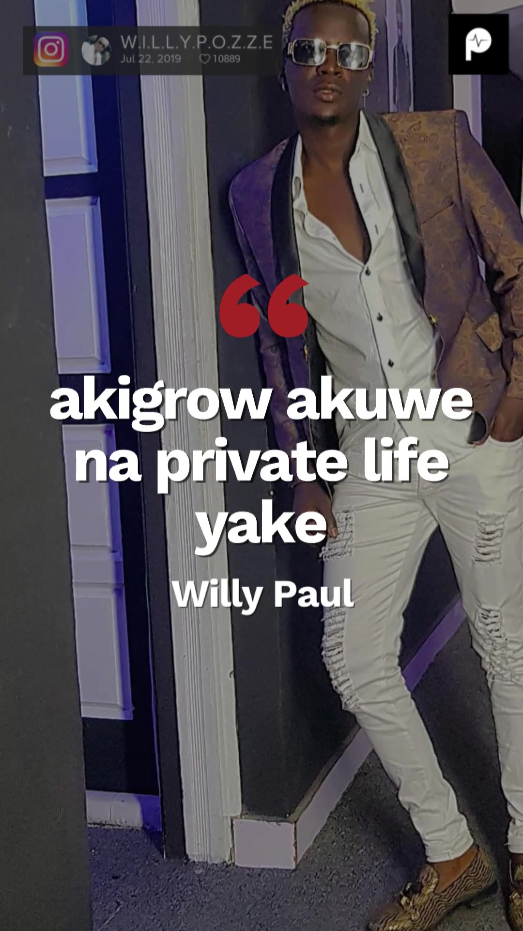 Why I Hide My Son From The Public Willy Paul