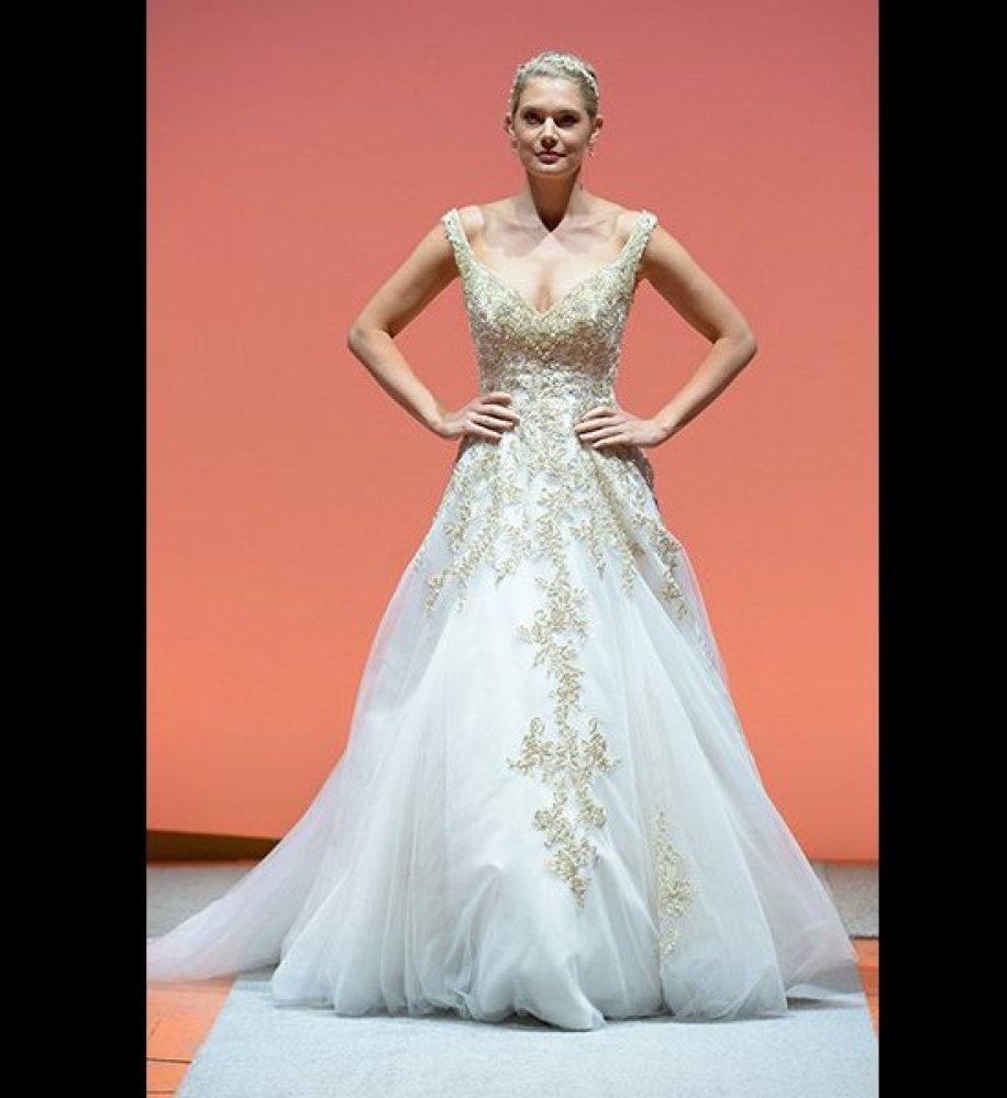 Watch - Inspired rapunzel wedding dress video