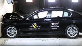 Testy zderzeniowe: 5 gwiazdek dla BMW serii 5 i 3 dla Fiata Doblo