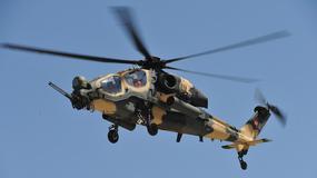 Turecki śmigłowiec szturmowy T129 ATAK na lotach demonstracyjnych w Polsce