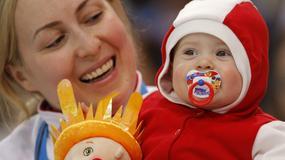 Najmłodsi kibice na olimpiadzie w Soczi