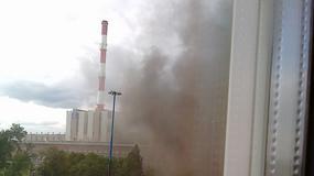 Pożar Elektrociepłowni Żerań w Warszawie