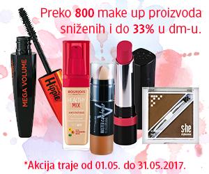 Izaberite vaš omiljen make up look po sniženim cenama!