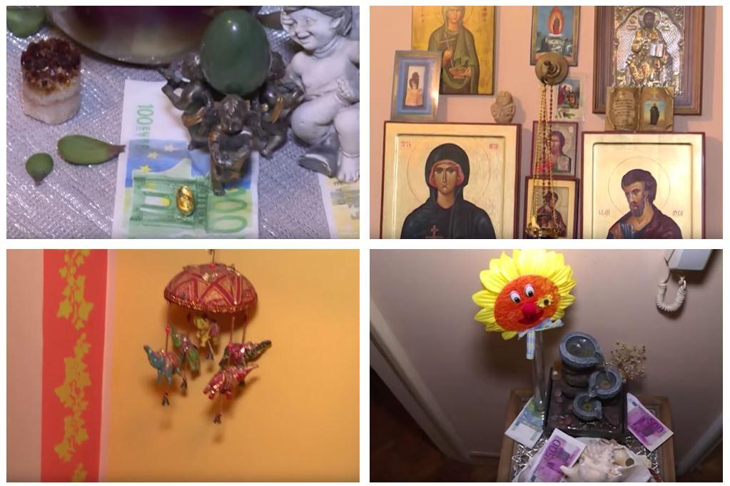 Zvezda 90-ih živi u KUĆI PUNOJ KRISTALA, ikona, oltara i PARA: 'Dobro došli u moj hram!'