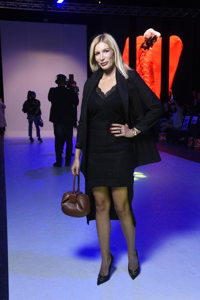 Minja Miletić na Beogradskoj nedelji mode