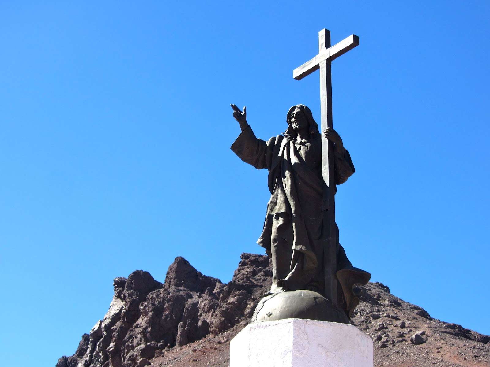 Christ the Redeemer of the Andes, Chile – Argentina border [Bill and pam's paraguay adventure and beyond]