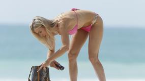 Joanna Krupa na plaży