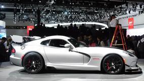 Dodge Viper znika z rynku - koniec produkcji amerykańskiego osiłka