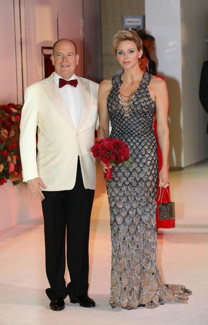 Princeza Šarlin sa suprugom Albertom