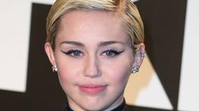Miley Cyrus w odważnej sukience