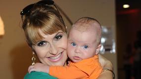 Pierwsze urodziny córki Kasi Skrzyneckiej