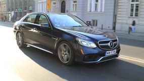 Mercedes E 63 AMG S 4MATIC - Zbyt mocno... wozi na pokuszenie