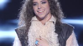 """Długie włosy, długie paznokcie i odlotowe ciuchy - Michał Szpak w programie """"X Factor"""""""