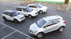 Opel Mokka kontra Mini Countryman, Skoda Yeti i Mitsubishi ASX: kto zrobił najlepszego małego SUV-a?