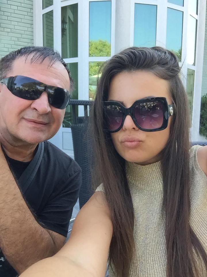 Mitar Mirić i Lepa Gaga