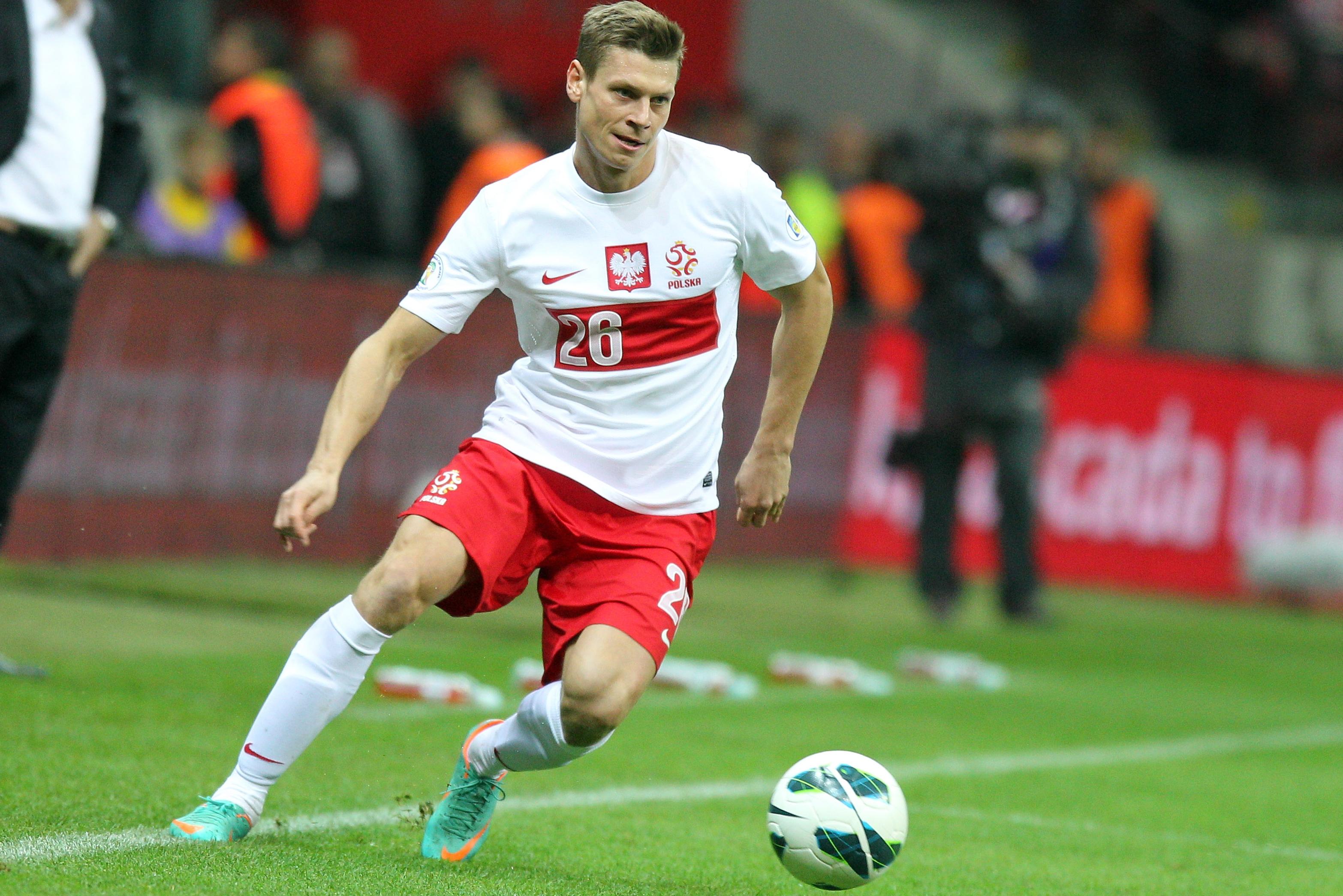 Łukasz Piszczek nie zagra w meczu reprezentacji Polski z Irlandią