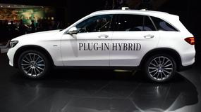 Mercedes GLC Plug-in Hybrid - ekologiczny SUV (Frankfurt 2015)