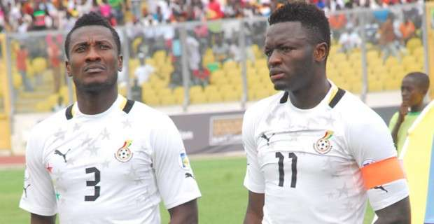 Sulley Muntari isn't open to the press but does his talking on the field- Asamoah  Gyan [ARTICLE] - Pulse Ghana