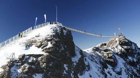 Szwajcaria: pierwszy na świecie most wiszący pomiędzy dwoma szczytami górskimi