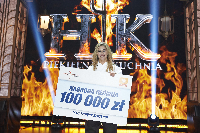 20 Letnia Katarzyna Domańska Wygrała Hells Kitchen