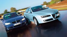BMW 320i kontra Alfa Romeo 159: emocje gwarantowane