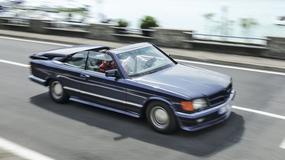 Perły tuningu lat 80. - Mercedes 500 SEC bb Magic Top