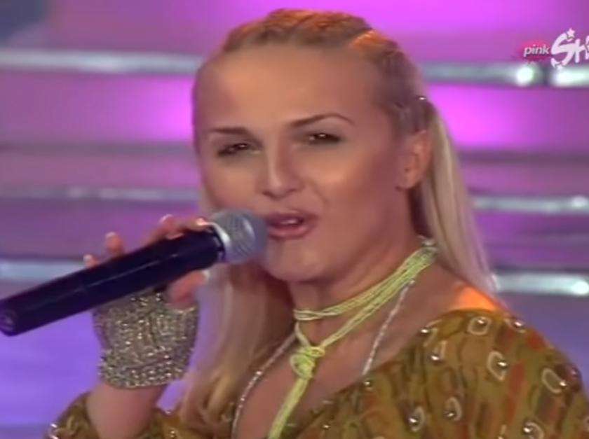 Aleksandra Radović pre 16 godina