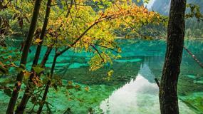 Chiny - parki narodowe Jiuzhaigou i Huanglong