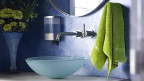 Szklane umywalki
