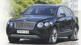 Olbrzym dla szejka - Bentley Bentayga