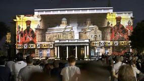 SLAVNA SRPSKA ISTORIJA NA MODERAN NAČIN Vizuelni spektakl na zgradi Starog dvora oduševio Beograđane