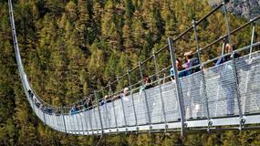 Najdłuższy wiszący most świata otwarty w Szwajcarii