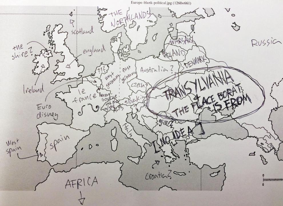 Amerykanie Rozwiazali Test Z Geografii Zobacz Jak Im Poszlo