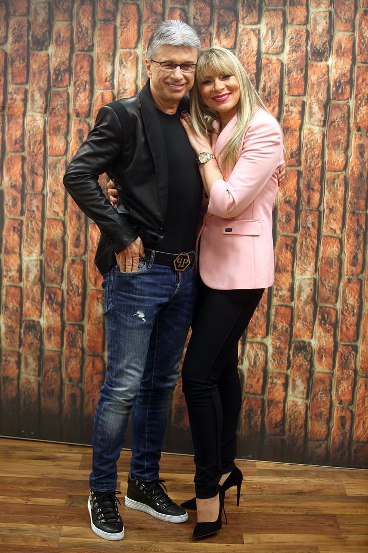 Saša Popović i Suzana Jovanović