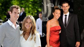 Piękne partnerki tenisistów