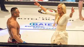 """Eliza wspierała """"Trybsona"""" podczas debiutu w MMA"""
