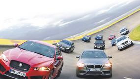 Test spalania 10 aut przy prędkości maksymalnej