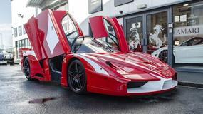 Drogowe Ferrari Enzo FXX - dzika bestia na wolności