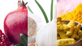 Żywność, która najlepiej chroni przed rakiem: granat, czosnek, kurkuma