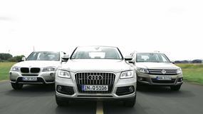 Audi Q5 kontra BMW X3 i VW Tiguan: który SUV okaże się najlepszy