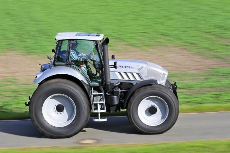 Traktor Lamborghini Kontra Gallardo Auto Świat