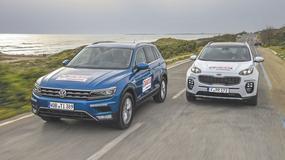 Volkswagen Tiguan kontra Kia Sportage - prymus kontra bestseller