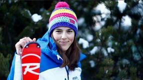 Słowacka narciarka ma bardzo delikatną urodę