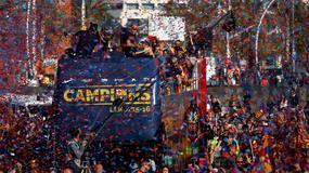 ŠAMPIONSKA VOŽNJA Barsin trofejni defile kroz grad /FOTO/ /VIDEO/